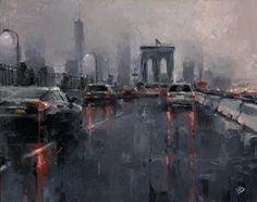 Stunning Cityscapes Paintings by Victor Bauer