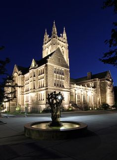 New print available on fineartamerica.com! - 'Boston College Gasson Hall' by Juergen Roth -