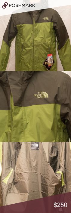 NORTHFACE MOUNTAIN LIGHT TRI CLIMATE GORE-TEX 3IN1 GET A GREAT DEAL ON THIS BRAND NEW WITH TAGS 3N1 NORTH FACE COAT!  PERFECT FOR HIKING/SKIING/SNOWBOARDING AND MORE!  WEAR ZIPPED TOGETHER FOR MAXIMUM WARMTH OR UNZIP AND WEAR THE OUTER SHELL WHEN JUST NEEDING TO STAY DRY WITH ITS GORE-TEX FEATURE.  THE INNER JACKET ZIPPED OUT IS A STYLISH AND WARM 550 FILL JACKET FOR COLD AND DRY DAYS! The North Face Jackets & Coats