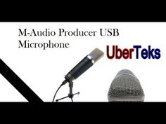 M-Audio Producer USB Microphone Review - YouTube