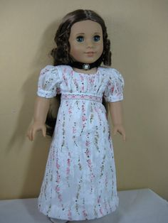 18 inch Doll Clothes American Girl 1800s Regency by nayasdesigns