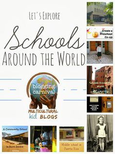 Let's Explore Schools Around the World from Multicultural Kid Bloggers