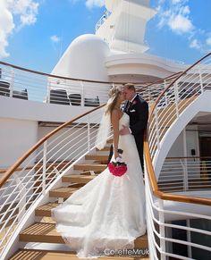 "Disney Cruise Line Weddings on Instagram: ""⠀ (📷: taken by Collette Mruk Photography) Thank you for Tagging @DisneyCruiseWedding #disneycruisewedding #disneycruisebride #disneybride…"""
