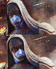 #LeePace as #Ronan the Accuser in Guardians of the Galaxy.