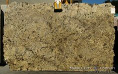 Absolute Cream Granite — Slab View