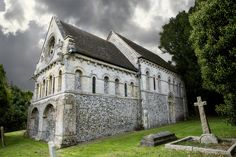 St. Nicholas Church. Barfreston, Kent. Late 12th Century. Romanesque Art, 12th Century, Places To Visit, Mansions, Architecture, House Styles, Arquitetura, Manor Houses, Villas