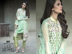 Waseem Noor Lucid Dream Spring Formal Dress Collection 2016