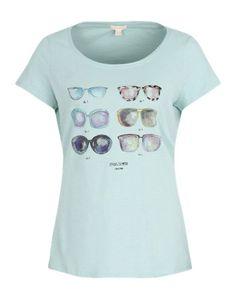 Printshirt mit Klebenieten
