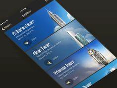 App for tourists in Dubai by Volodymyr Kurbatov