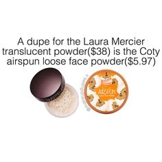 """328 Likes, 10 Comments - makeup dupes  (@makeupdupes.x) on Instagram: """"here's a great dupe for the Laura Mercier translucent powder what's your favorite translucent…"""""""