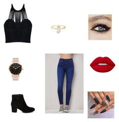 """""""Untitled #191"""" by alondra-74 ❤ liked on Polyvore featuring PacSun, Posh Girl, Steve Madden and Lime Crime"""