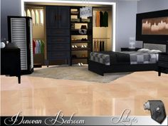 Sims 3 Finds - Donovan Bedroom by Lulu265 at The Sims Resource
