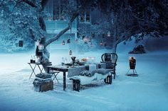 I hate the cold but this is so pretty CHRISTMAS FAIRYTAIL BY IKEA - 79 Ideas