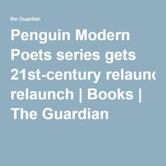 Penguin Modern Poets series gets 21st-century relaunch   Books   The Guardian