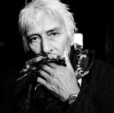 John Cale (1942) - Welsh musician, composer, singer-songwriter and record producer who was a founding member of the experimental rock band the Velvet Underground. Photo by Mathieu Zazzo