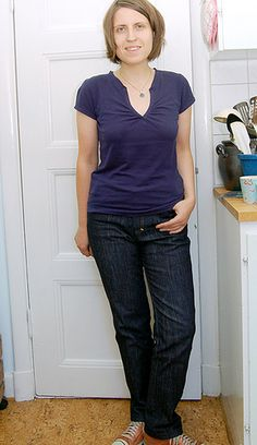 Jeans Burdastyle by Johanna Lu, via Flickr