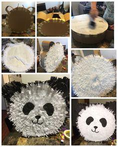Panda piñata diy