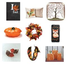 """""""Autumn or Fall..."""" by lizzyandboo ❤ liked on Polyvore featuring interior, interiors, interior design, home, home decor, interior decorating, Improvements, Avon and Casetify"""