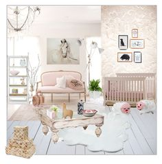Family room by aimbilal on Polyvore featuring interior, interiors, interior design, home, home decor, interior decorating, Delightfull, Nina Campbell, Areaware and Pier 1 Imports