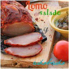 MI ADORABLE COCINA: LOMO CURADO ADOBADO Chorizo Sausage, Gordon Ramsey, Empanadas, Food Photo, Pork, Fresco, Meat, Recipes, Norman