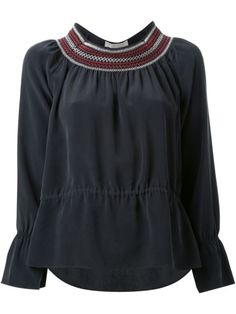 Vanessa Bruno блузка с вышивкой