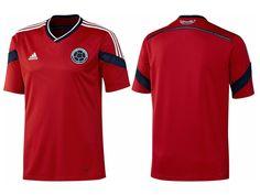 Camisa reserva da Colombia 2014-2015 Copa do Mundo