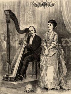 John Thomas (1826 – 1913), Welsh composer and harpist
