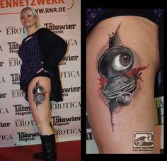 Trash Polka Tattoo, Trash Style Tattoo, Trash Tattoo, Surf-Ink-Tattoo, Ted Bartnik