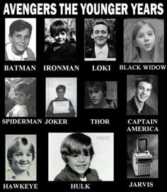 Superheros: The Younger Years