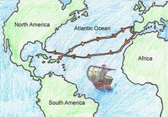 A important historical event was Christopher Columbus dicovering the new world. He took a long journey to make a great discovery. History Projects, History Class, Art Projects, Christopher Columbus Route, Christoph Kolumbus, St Johns College, 5th Grade Social Studies, Inventions, Display