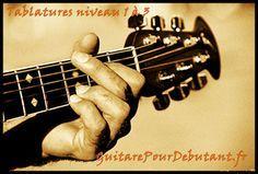 Tablature facile pour debutant guitare, tablature guitare , tablature facile , tab , partition ,