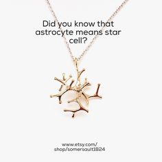 Let the astrocyte necklace be your star #somersault1824