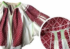 Semne Cusute: despre incret Folk Embroidery, Peasant Blouse, Beading Patterns, Cross Stitch Patterns, Ethnic, Textiles, Culture, Costumes, Traditional