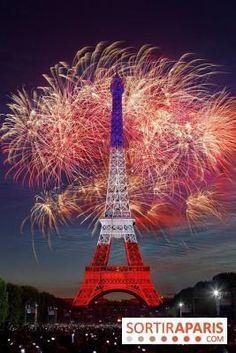 La vidéo du feu d'artifice de Paris 2014