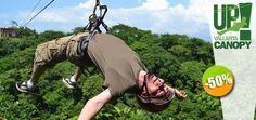 Up Canopy Vallarta - $375 en lugar de $750 por 1 Emocionante Paseo de Canopy. Click: CupoCity.com