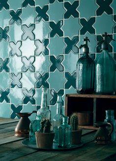 Hi, my name is Nancy Mitchell, and I'm a tile addict