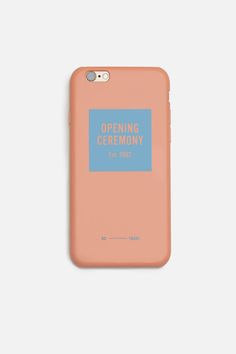 11+ FOR OPENING CEREMONY IPHONE 6 COLOR CASE $ 40