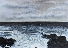 Buy Seascape Paintings | Shore Break | StateoftheART Shore Break, Paper Artwork, Seascape Paintings, Inspiring Art, Online Art Gallery, Waves, African, Outdoor, Inspiration