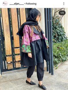 Abaya Fashion, Suit Fashion, Fashion Outfits, Girls Fashion Clothes, Girl Fashion, Mode Kimono, Persian Girls, Woman Suit, Chiffon Dress Long