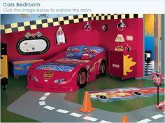 Disney cars room decor
