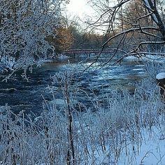 Sociala medier   Svenska Kulturnyheter Fotograf: A-H R Tog den här bilden vintern 2014 i Gävle.