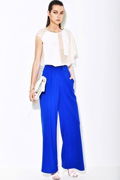 High waisted wide leg pants - All about the goods