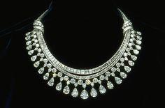 HARRY WINSTON Hazen Diamond Necklace 131.4 carats