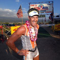 In Cory Foulk finished Ironman Hawaii riding a beach cruiser. Today, after a hip resurfacing operation, hes totaled 47 Ironman and 21 Ultraman events and still thinks the hard way is more fun. Hip Resurfacing, The Hard Way, Stock Market, More Fun, Iron Man, Hawaii, Interview, It Is Finished, Events
