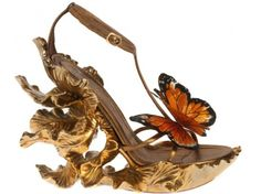 bugs Alexander McQueen Monarch Butterfly shoes
