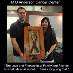 """Rusty Dusty LLC created this plaque to Honor his Dad. He Presented this to MD Anderson Cancer Center on the 2nd anniversary of his Dad's passing. He used the """"Michael Hope """" Ribbon on the frame with the quote His Dad wrote to the family before he died, on the plate. All the Rusted Cancer Ribbons are made to Help raise Cancer Awareness, and funds raised to make donations for cancer research! Trying to make a difference for others in this battle! See all the rusted Cancer Ribbons on my page."""