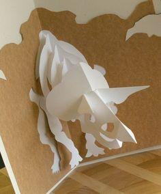 Resultado de imagen para kirigami plantillas para imprimir pdf