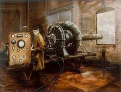 The jet engine developed in Britain in the 1930s by Sir Frank Whittle. What was his job at the time?