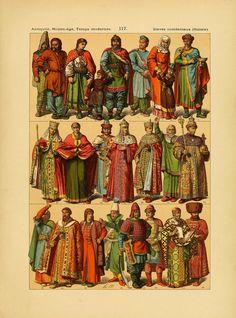 Le costume, les armes, les bijoux, la céramique... Title Page, Historical Clothing, Costumes, Illustration, Movie Posters, Painting, Folk, Asia, Europe