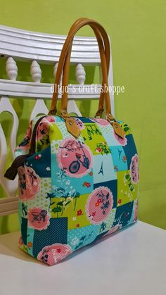 aLiYa's cRaFt: TUTORIAL DOCTOR FRAME BAG
